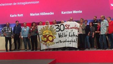 Aktion Arbeitszeit öffentlicher Dienst 5. Bundeskongress in Leipzig 25.09.2019